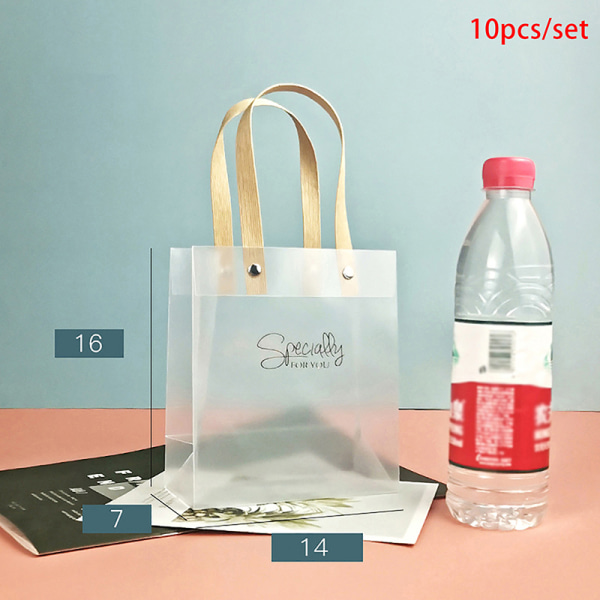 10st/uppsättning påsar Presentförpackningspåse med handväska för vi S