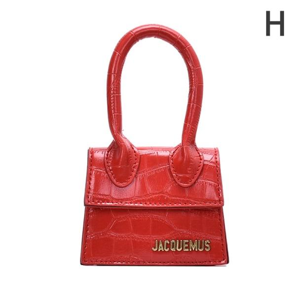 Läder Messenger Bag Handväska Tote Crossbody Axelväska Clutc H