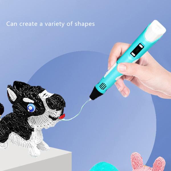 3D-tryckpenna för tredimensionell målning