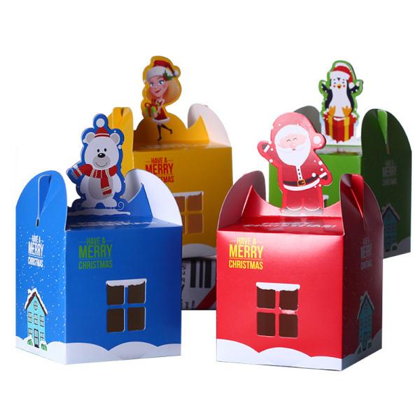 Christmas Candy Box Merry Christmas Fruit Box Packing Box Favor I random