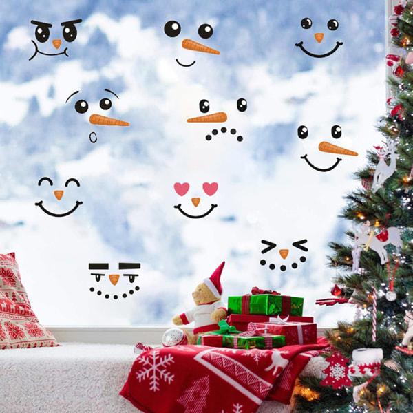 Julsnögubbe Kylskåp Klistra in Creative Self Stick Decora A