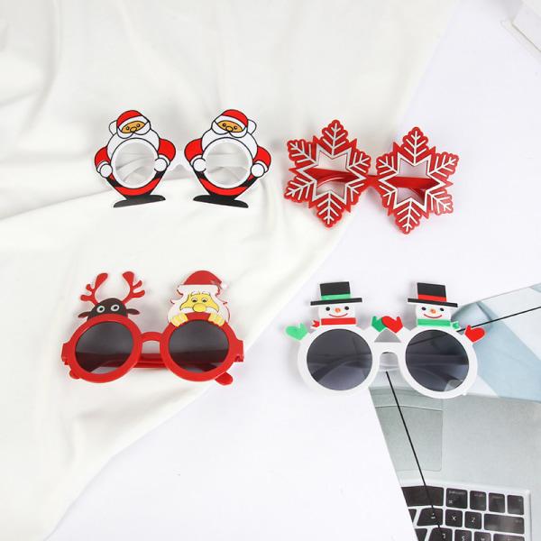 Merry Christmas Glasses Santa Claus Xmas Tree Elk Glasses Chris D