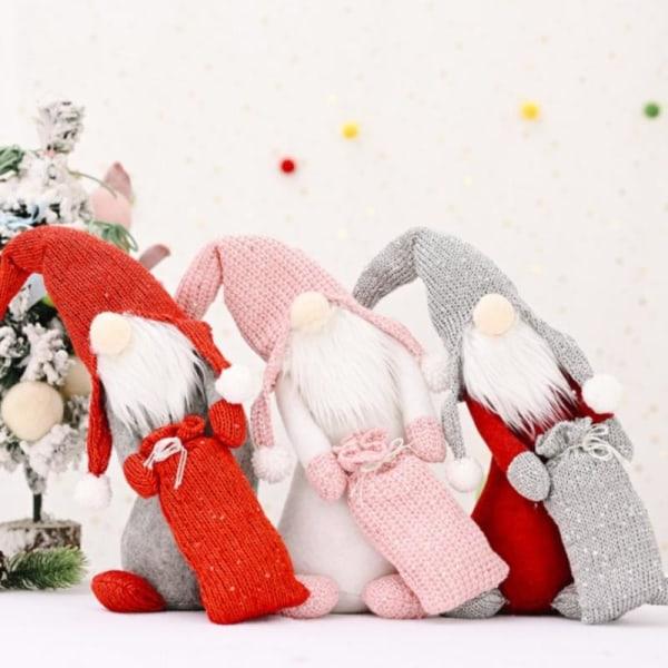 1st Jul Ansiktslös Crooked Neck Ansiktslösa Doll Ornaments H Pink