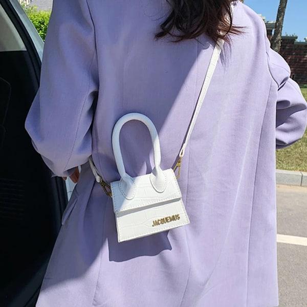 Läder Messenger Bag Handväska Tote Crossbody Axelväska Clutc J