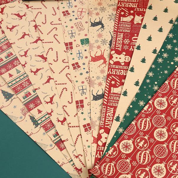 70*50 cm julklappsförpackning Craft Paper Roll DIY presentpapper D
