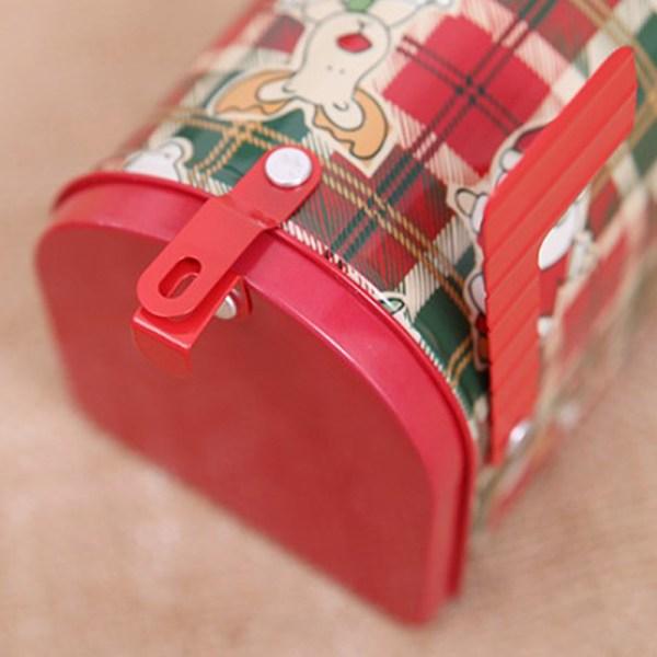 Julpostlåda presentpåse barn godislåda semesterfest hom A1