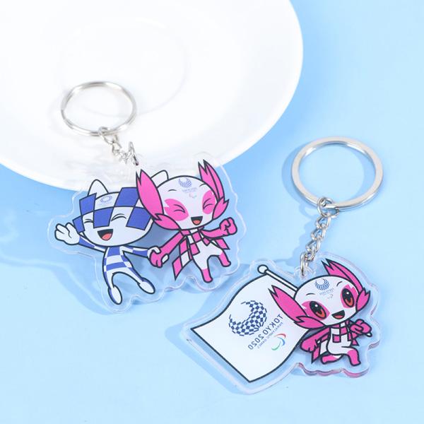 anime nyckelring 2021 OS souvenir miraitowa / someity keyc A