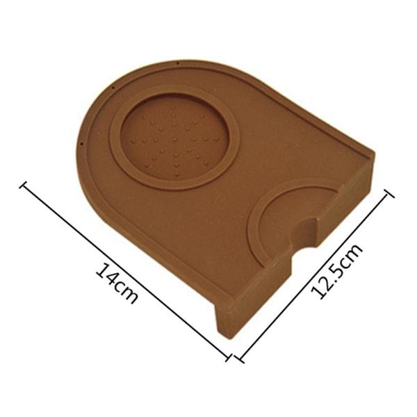 Anti-slip kaffe tamper matta espresso pad kaffe tamping hållare t Coffee S