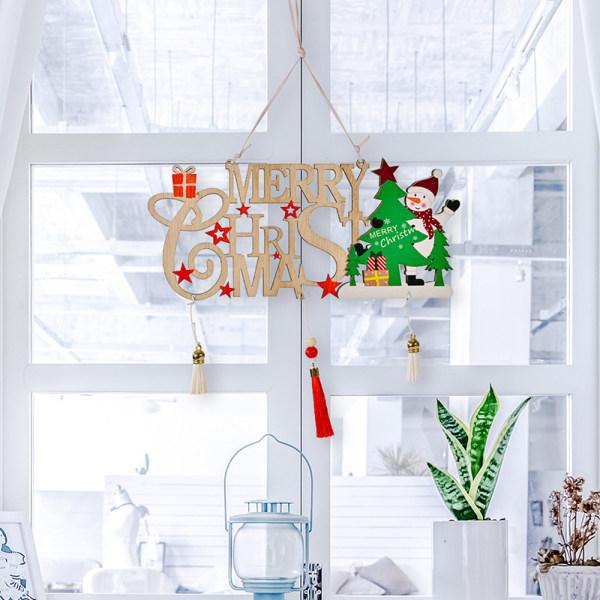 Julhänge Trämålad Färgrik Bil Xmas Tree Drop Or A3