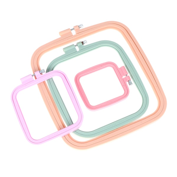 Square Broderi Hoops rame Ring Craft DIY Dream Catcher Home 7*7.5厘米