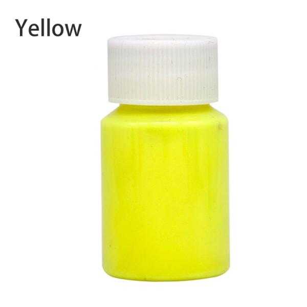 Högblank lysande färg Vattentät Långvarig lysande smärta Yellow 25g