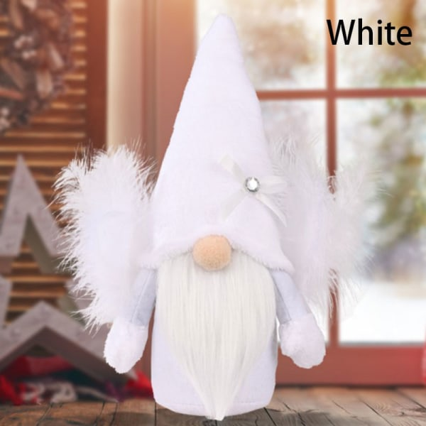 1st Jul Ansiktslös Crooked Neck Ansiktslösa Doll Ornaments H White
