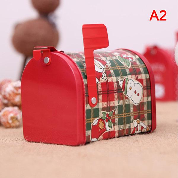 Julpostlåda presentpåse barn godislåda semesterfest hom A2