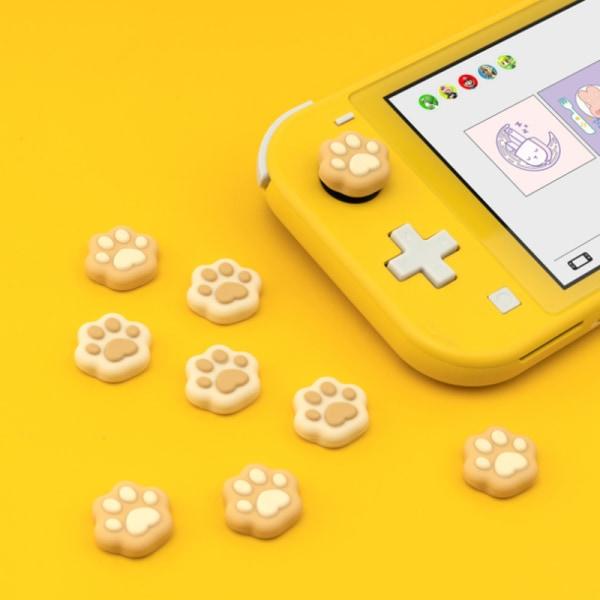 För Nintendo Switch Joycon Silicone Thumb Stick Grip Caps Cover F