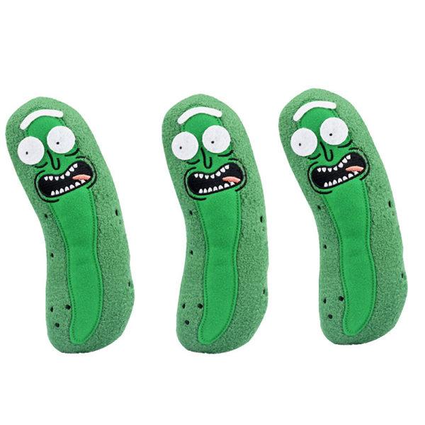 söt pickle rick 20cm plysch fylld docka rolig mjuk kudde ansikte Green