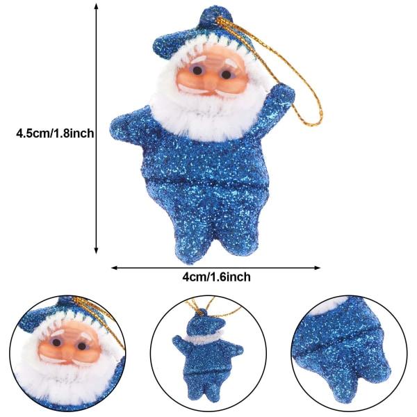 Julgransprydnader Träd Hängande dekorationer Jul Hol 10个