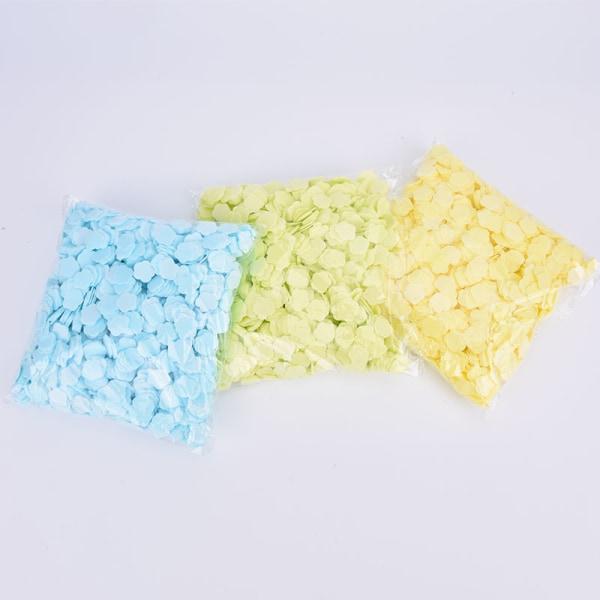 1000st pappersrengörings tvålar bärbara handtvål tvålpapper Sce Green