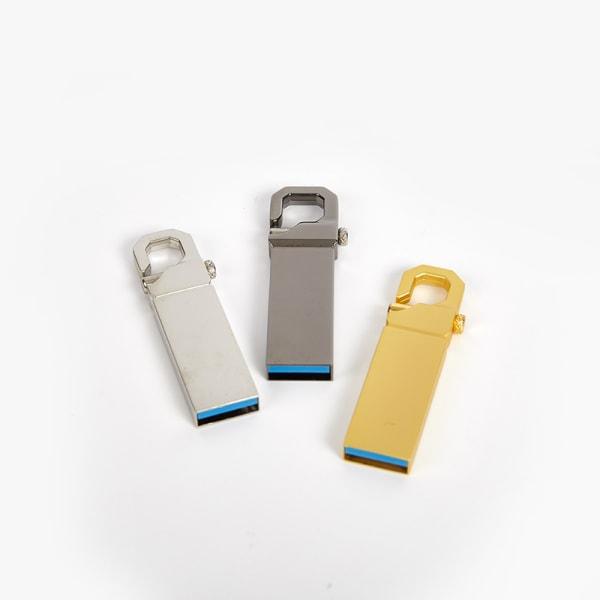 2021 USB-minne Memory Stick Metal Pendrive U Disk High-Sp A