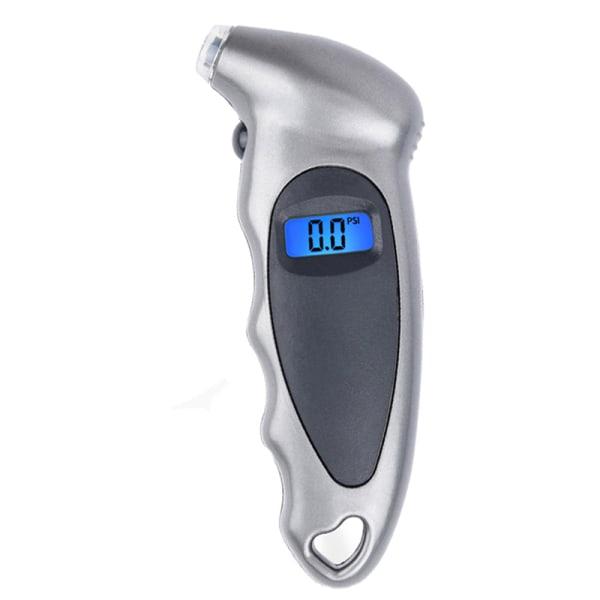 Digital bildäck Däck lufttrycksmätare LCD-display Baro Silver