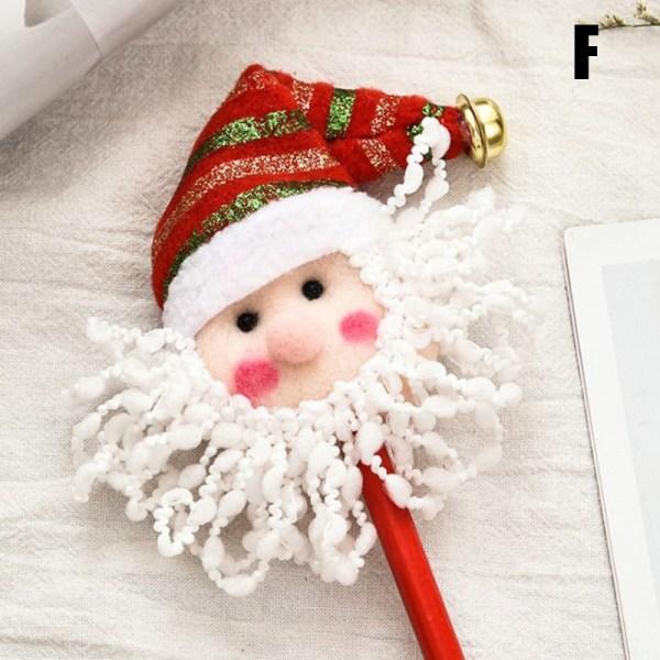 Tecknad jultomtepenna barnens julklappar Snögubbe C F