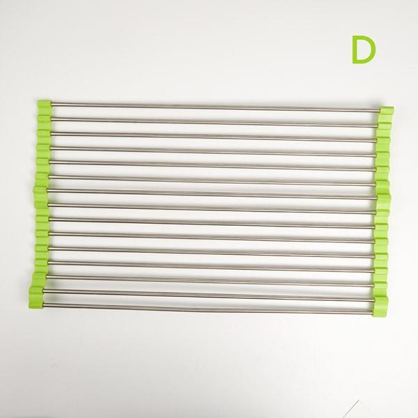hopfällbart torkställ rack för flera användningsområden i silikon D