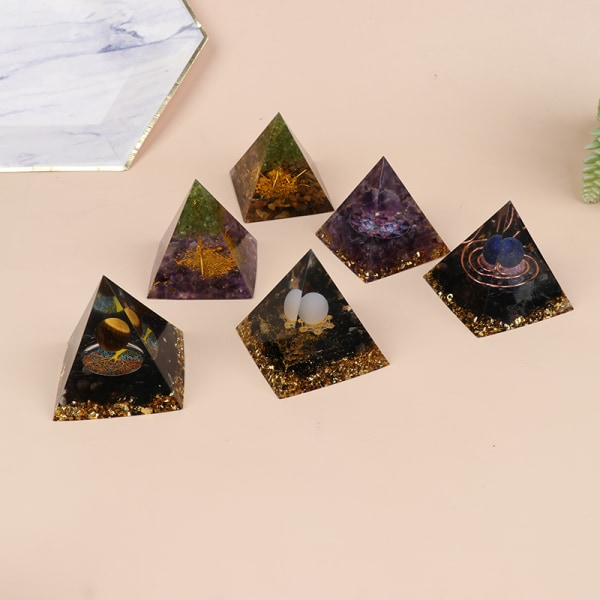 pyramid ametist peridot helande kristall energi pyramid skydda 5