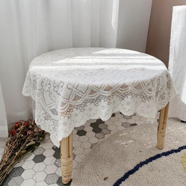 Blom- bakgrund för foto för tygduk för spetsduk