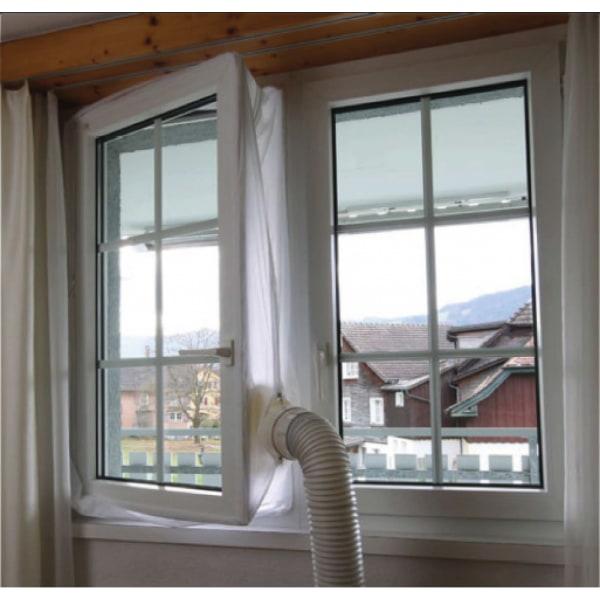 Fönstertätning för portabel AC