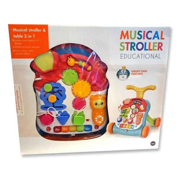 Ladida Gåvagn och Lekbord Musical Educational Walker Gul one size