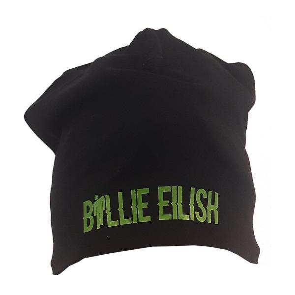 Billie Eilish beanie mössa hat - One size grön logo