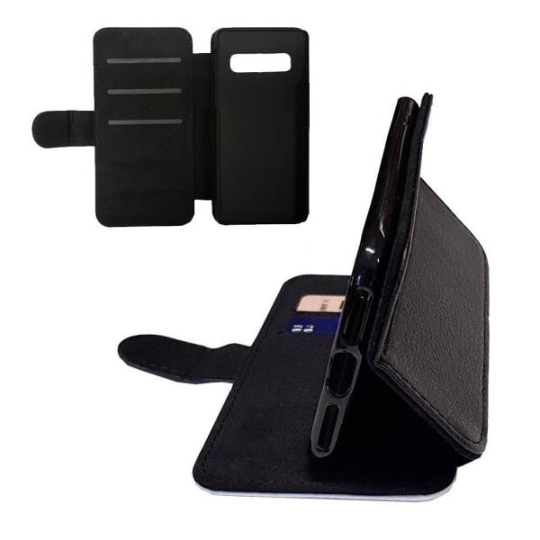Samsung S10 PLUS  Strand hästar Plånbok fodral med bild skal