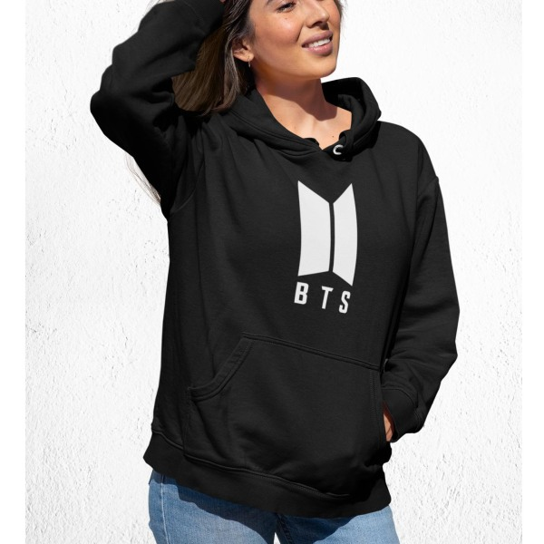 BTS stil svart  huvtröja barn K-pop SUGA sweatshirt tröja t-shir 164cl 14-16år