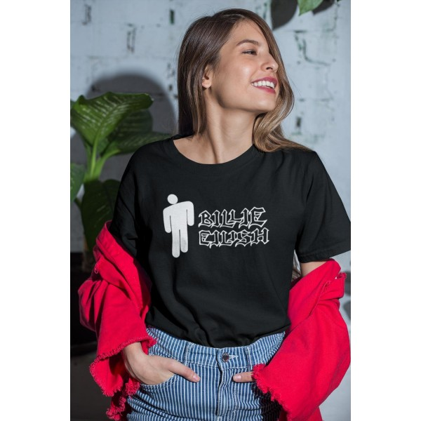 Billie Eilish t-shirt - Svart XXL