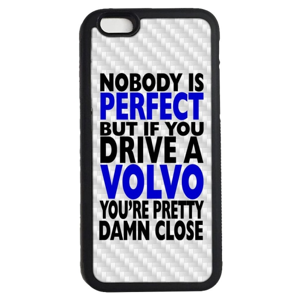 Iphone 7 & 8 skal med Nobody is perfect Volvo design