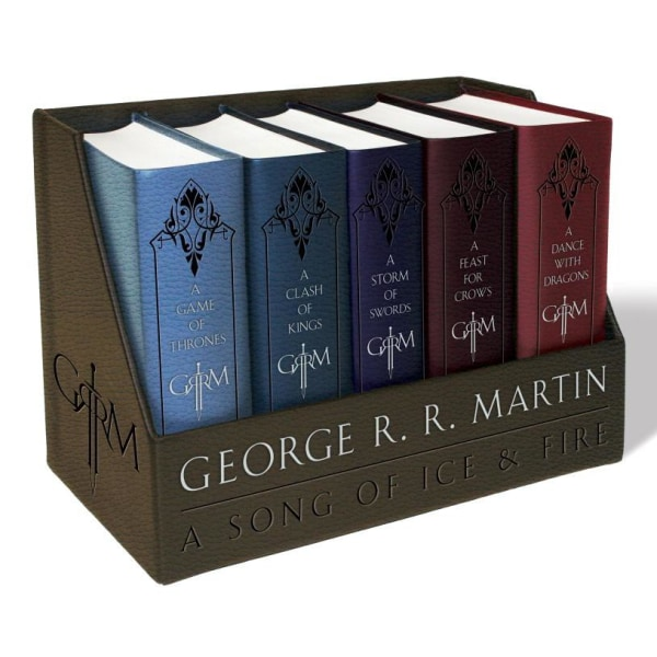 George r. r. martins a game of thrones leather 9781101965481