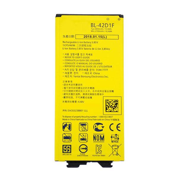 LG G5 BL-42D1F batteri - Original, 2800mAh