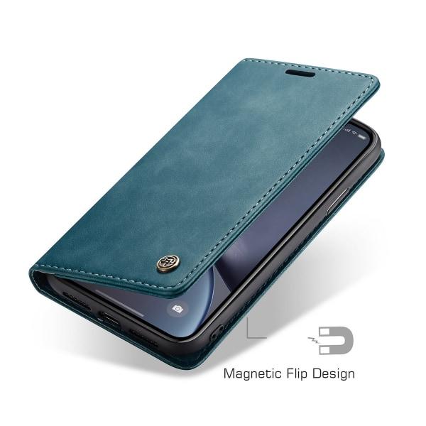 CaseMe plånboksfodral, iPhone XR blå