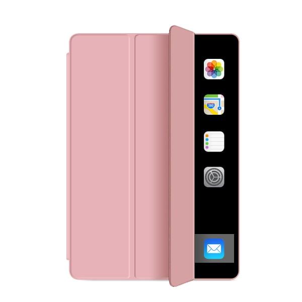 Läderfodral med ställ, iPad Mini 5 rosa