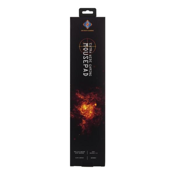 Deltaco GAMING Extra bred Gaming Musmatta, 900mm, svart
