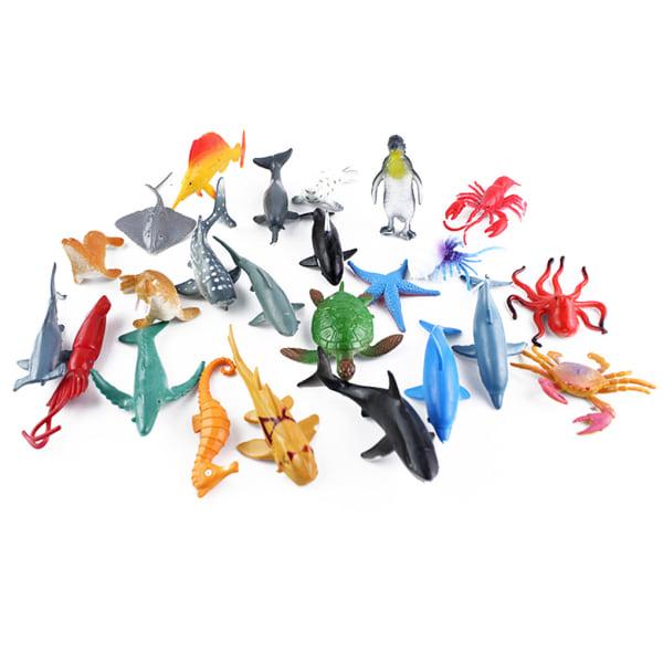 24st Barn Simulering Sea Life Fish Model Leksaker 1 set
