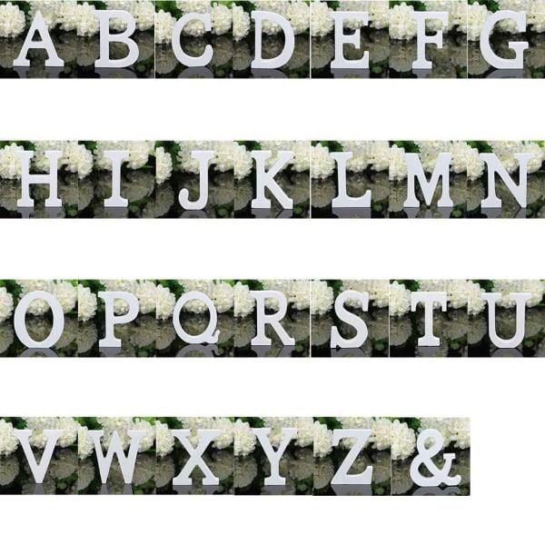 26 stora träbokstäver alfabetet bröllopsfest heminredning