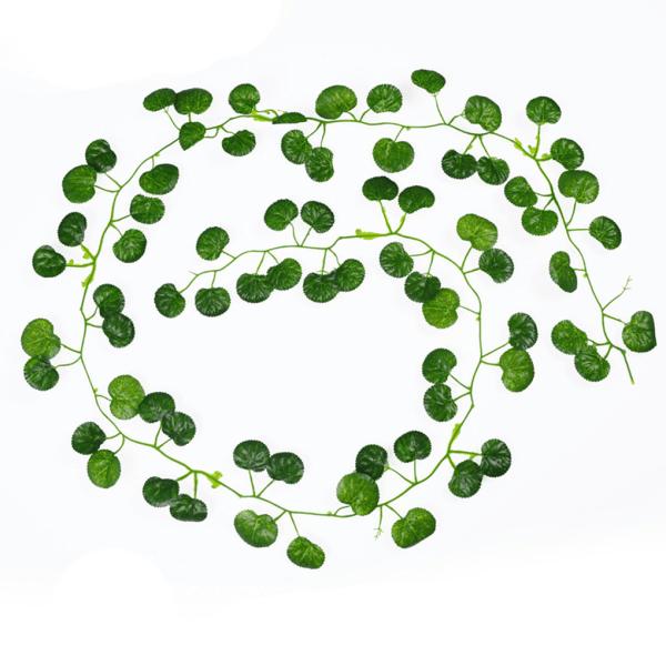 2m Creeper Begonia Artificial Ivy Leaf Vine Plants Home Decor