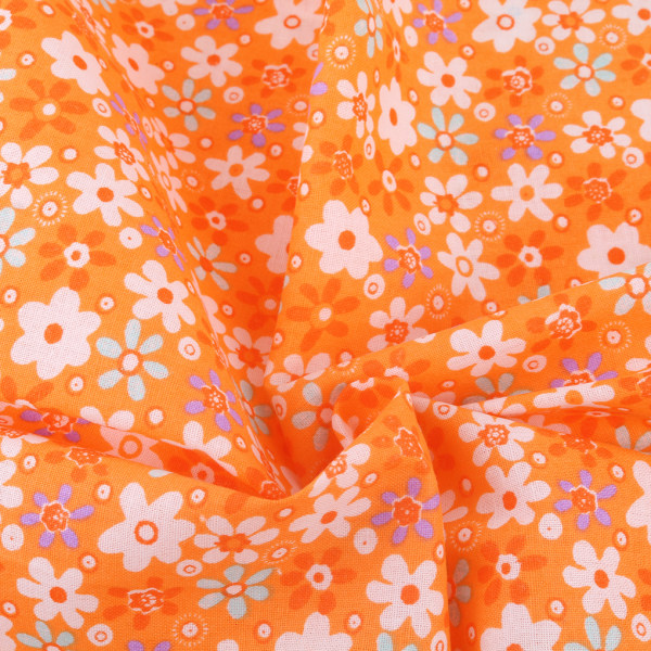 7st bomullsduk hantverkstyg patchwork tyg DIY sömnad