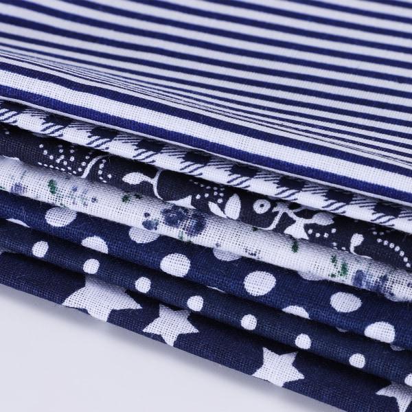 7st DIY Bomull Quilting Tyg Bundle Patchwork Crafts Tyg