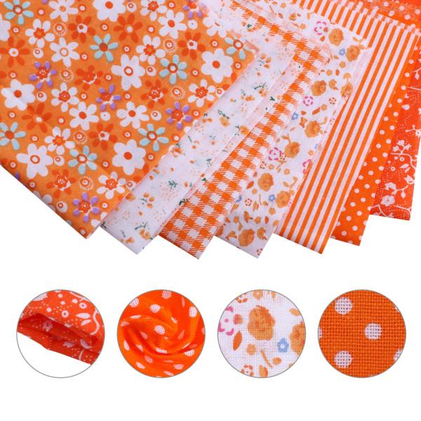 7st blommönster DIY sömnad textil hantverk patchwork tyg