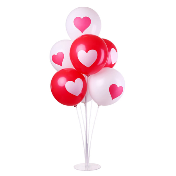 5 set Ballong Base Table Support Holder Cup Stick Stand Decor