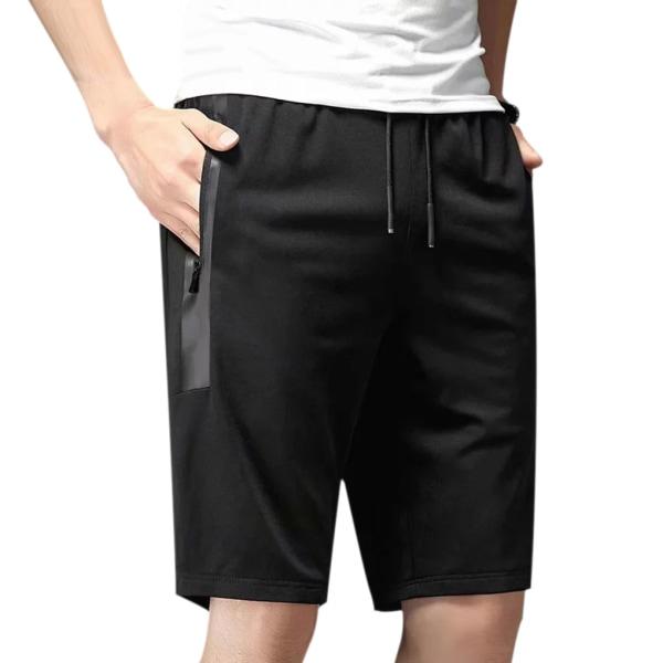 Mäns dragsko Casual shorts Byxor Elastiska midjebyxor