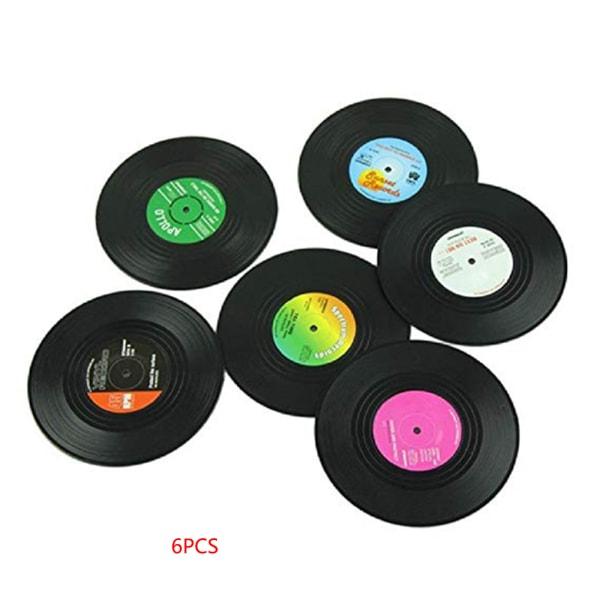 Plåtsmattor av plastmugg Vinylplattformar för bord