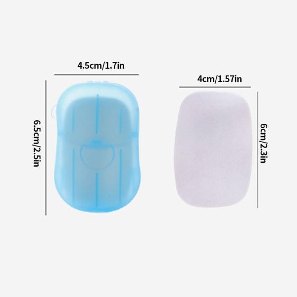 Bärbar disponibel handtvålpapper Händer tvättar rengöringstvål