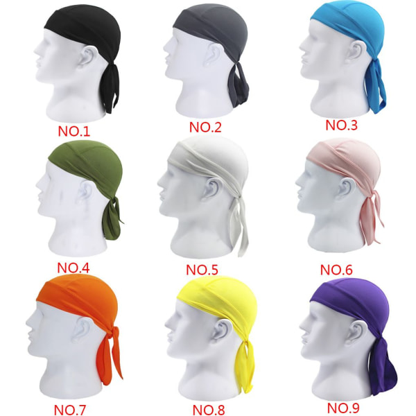 Sports Cycling Headscarf Headband Bicycle Cap Riding Bandana Hat